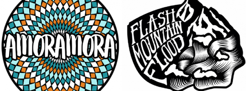 Amoramora + Flash Mountain Flood with Banshee Tree New Year's Eve at The Fox Theatre