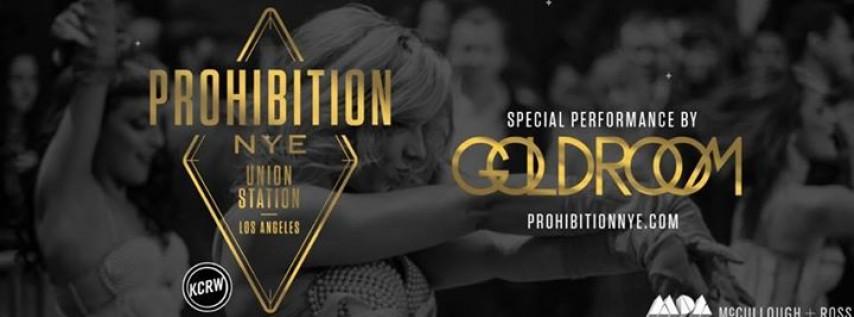 MDA x KCRW Presents Prohibition NYE feat. Goldroom and MDA DJs