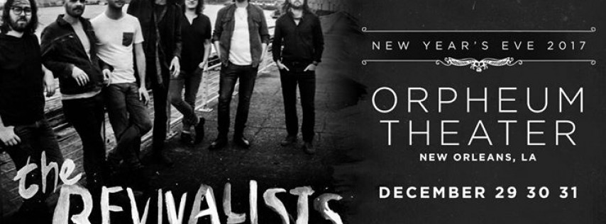 The Revivalists New Year's Eve 2017