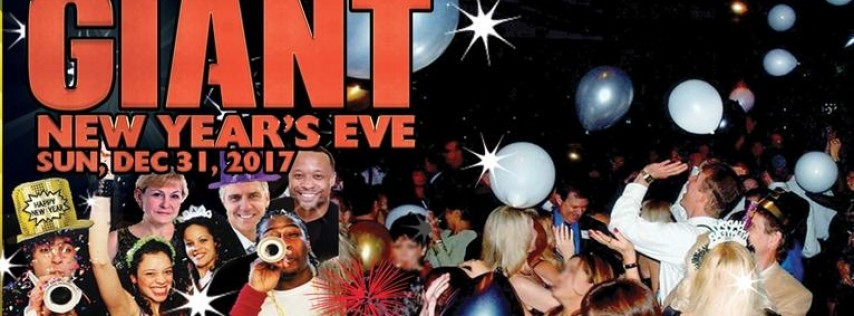 GIANT New Year's Eve OC Party * Sunday, Dec 31, 2017 * For Singles & Couples