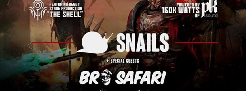 Snails - The Shell Tour Dallas w/ Bro Safari & More