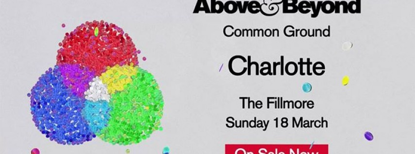 Above & Beyond: Common Ground Charlotte