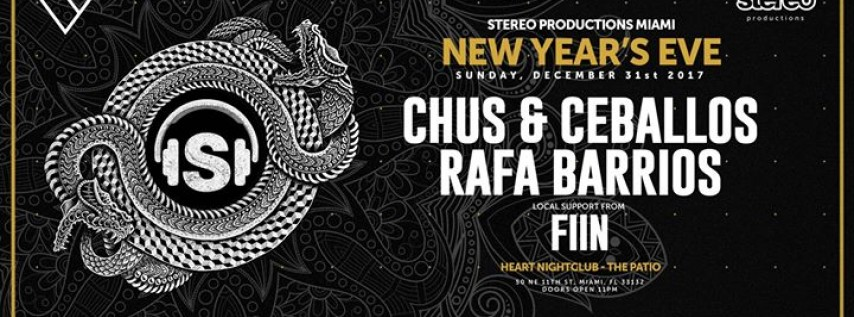 Stereo Productions New Year's Eve