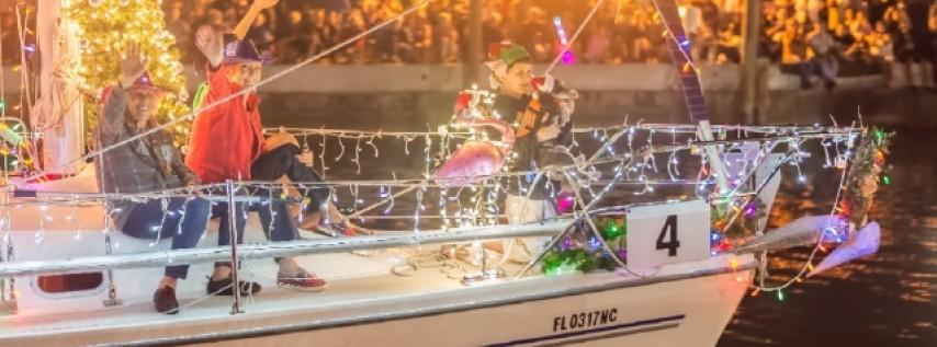 Dunedin Holiday Boat Parade & Tree Lighting