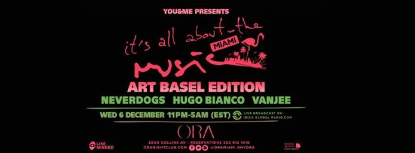 You & Me Art Basel Edition
