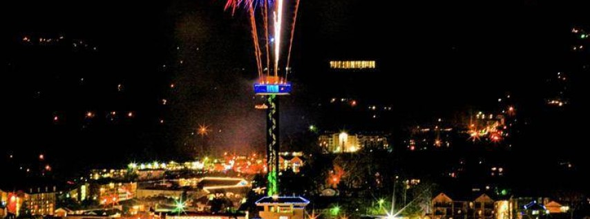 Gatlinburg New Year's Eve Ball Drop and Fireworks