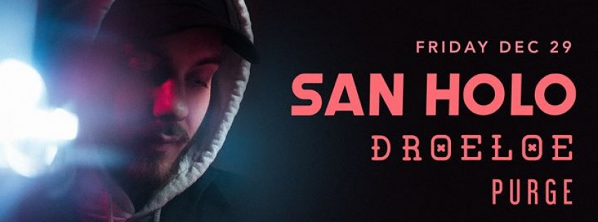 BLNK CNVS Presents San Holo at Club Space