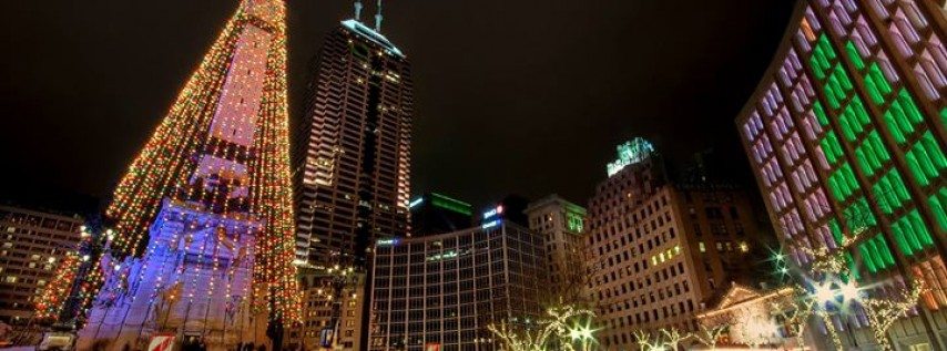 Downtown Indy, Inc.'s Circle of Lights® presented by IBEW #481