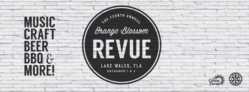 Orange Blossom Revue: BBQ, Music & Craft Beer Festival