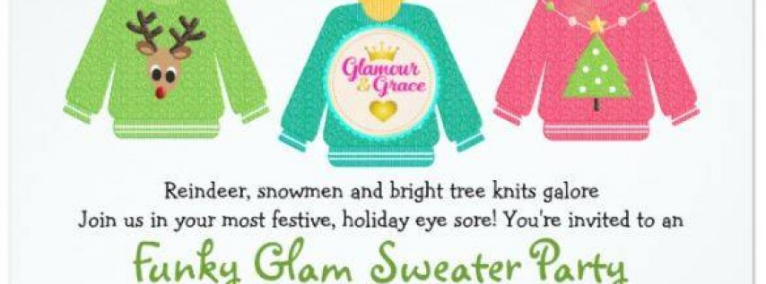 FunkyGlam Ugly Sweater Party