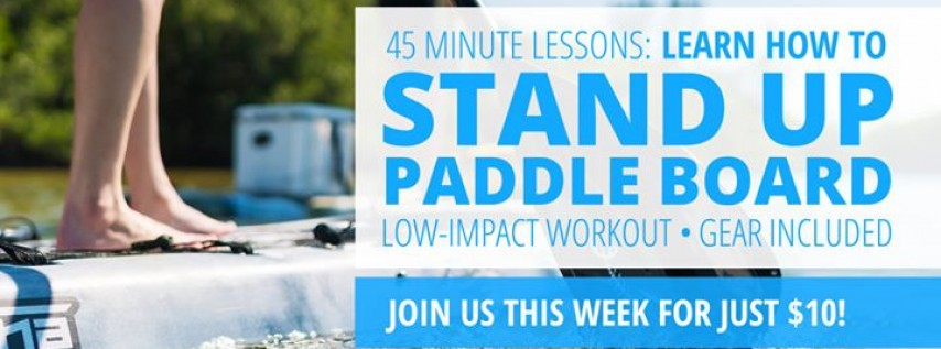 SUP Fitness for Beginners: Get a Low-Impact Workout in 45 Mins