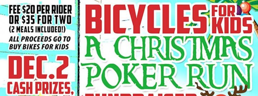 Bicycles for Kids Annual Christmas Fundraiser