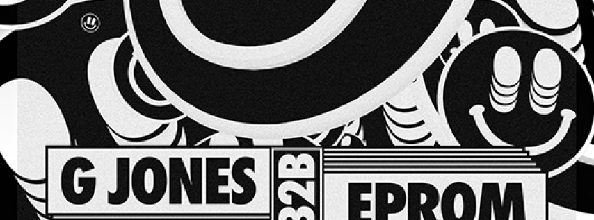 G Jones & EPROM at Royale | 1.18.18 | 10:00 PM | 21+
