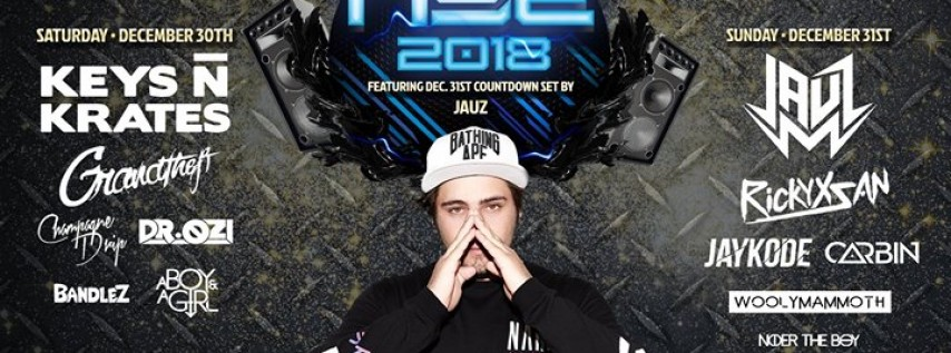 Skyway Theatre NYE 2018 (2 DAYS!) ft JAUZ, Keys N Krates + more!