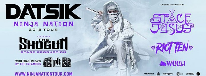 Datsik Ninja Nation Tour 2018 - Tampa, Florida