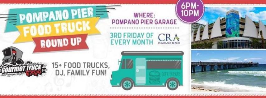Pompano Pier Food Truck Round-Up