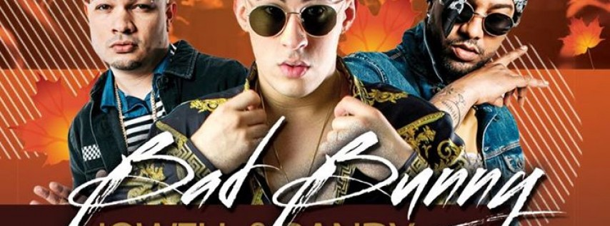 Pre-Thanksgiving Bash ft Bad Bunny + Jowell y Randy In Concert