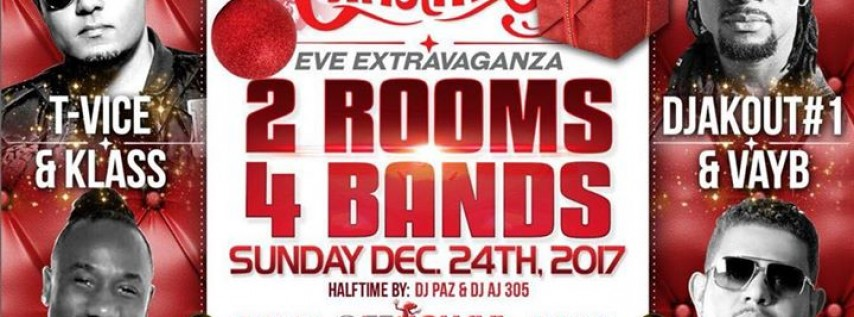 Christmas Eve Extravaganza ft TVice, Klass, DjAkout#1, and Vayb