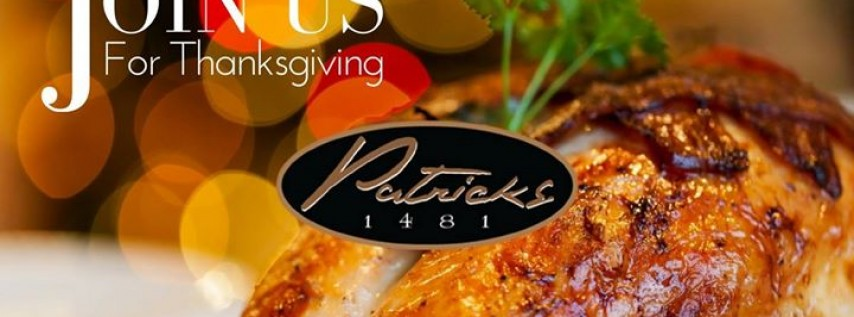 Thanksgiving Day at Patrick's 1481