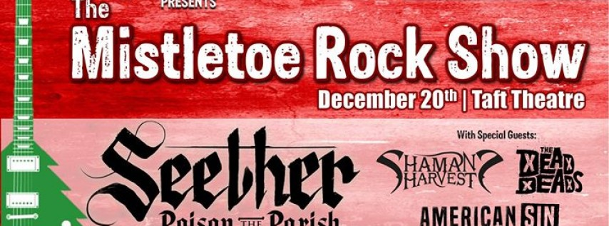 96Rock Presents The Mistletoe Rock Show featuring Seether
