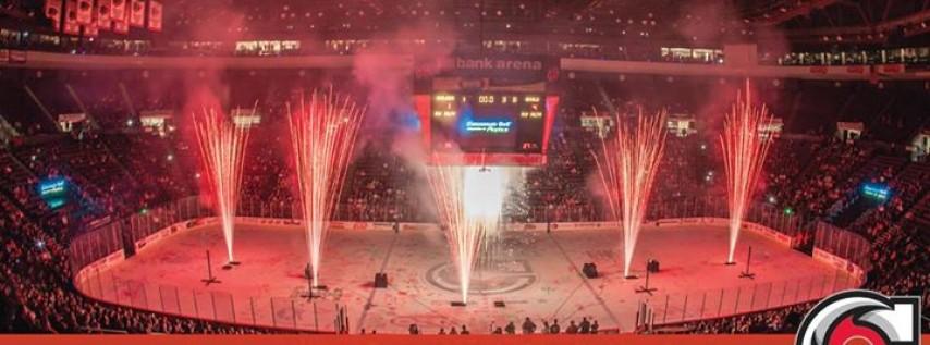 Cyclones Hockey: New Years Eve Fireworks