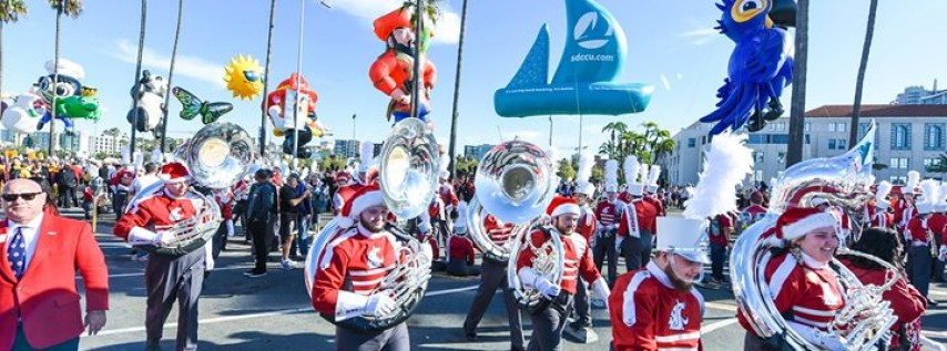 Port of San Diego Holiday Bowl Parade pres. by National Funding