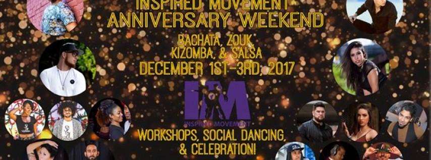 Inspired Movement Anniversary Weekender!