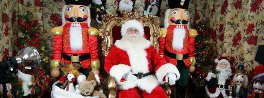 Santa's Winter Wonderland Village