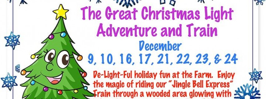 The Great Christmas Light Adventure and Train