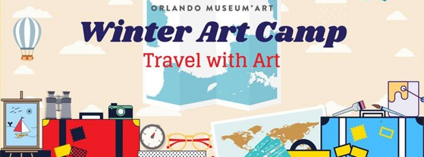 Winter Art Camp: Travel with Art