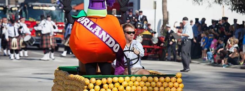 2017 Florida Citrus Parade!