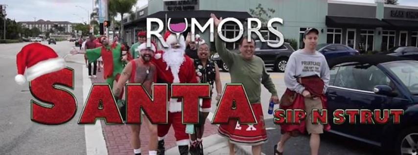 Rumors 3rd Annual Santa Sip N Strut