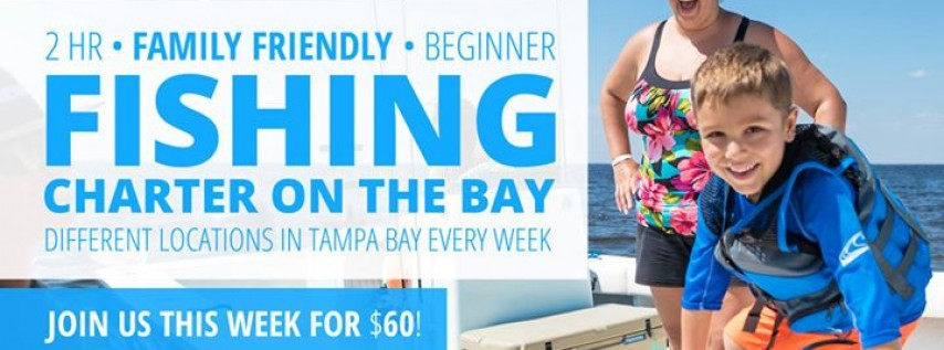 Saturday Morning Boat Fishing: A Beginner Fishing Charter on the Bay!