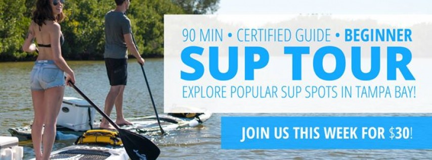 Saturday Eco Tour of Tampa Bay's Most Popular SUP Spot: Weedon Island