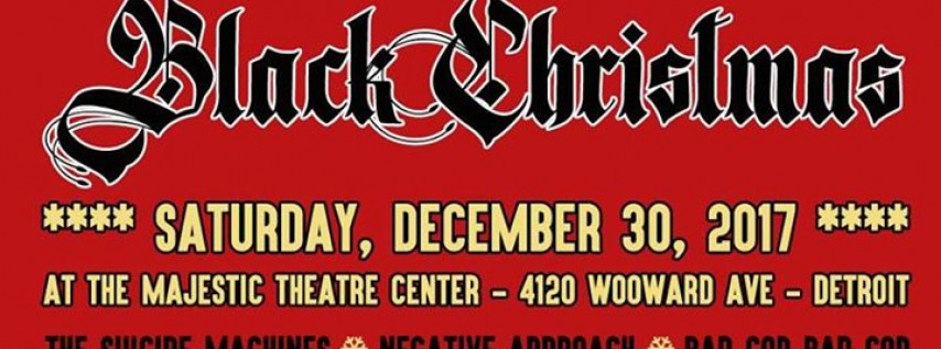 Black Christmas Feat. The Suicide Machines, NA & more!