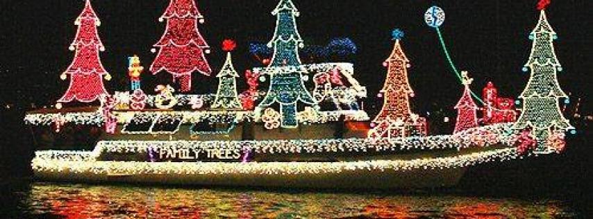Christmas Boat Parade Viewing