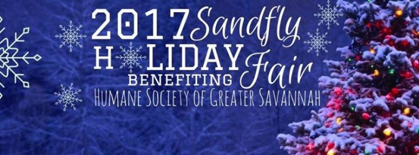 Sandfly Holiday Fair benefiting Humane Society