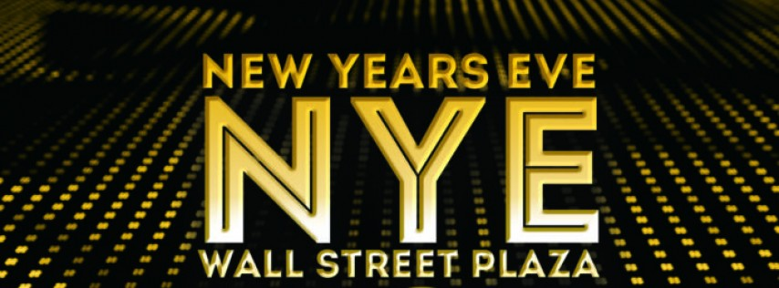 New Year's Eve 2018 at Wall Street Plaza!