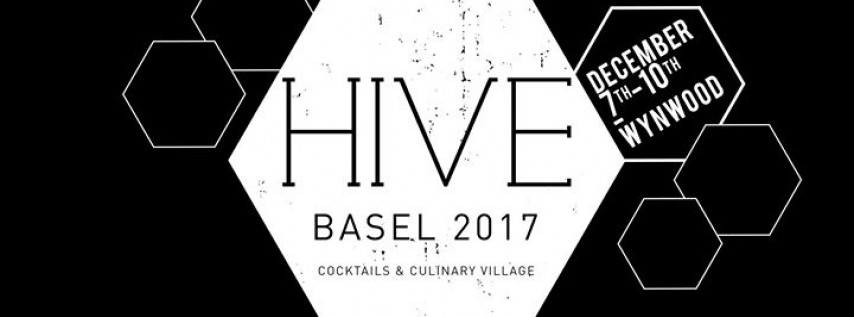 HIVE Basel 2017 Cocktails & Culinary Village
