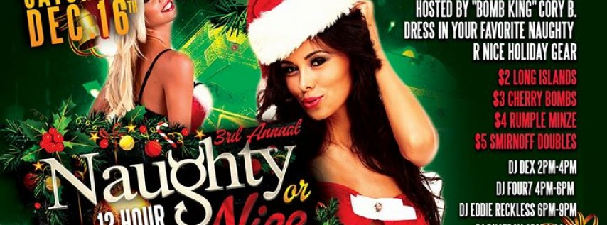 3rd Annual Naughty or Nice Holiday Party