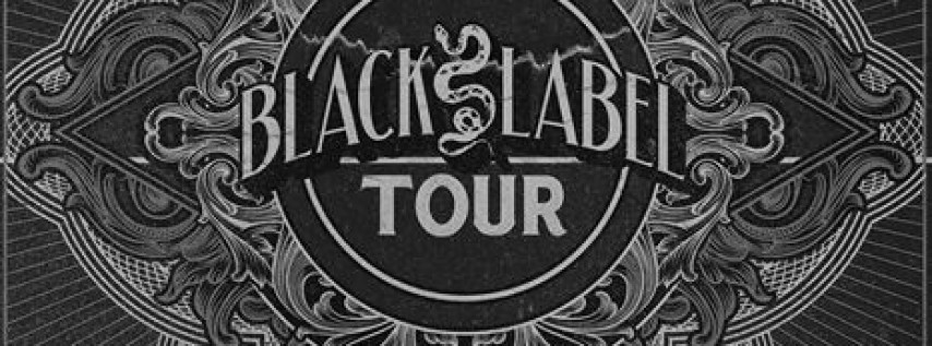 The Black Label Tour ft. Megalodon, Skism, and Krimer at Vulcan Gas Company