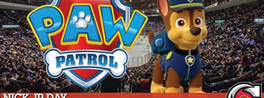 Cyclones Hockey: Nick Jr Matinee featuring Paw Patrol Appearance