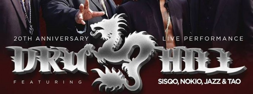 DRU HILL at The Pourhouse - December 15th *20th Anniversary Show