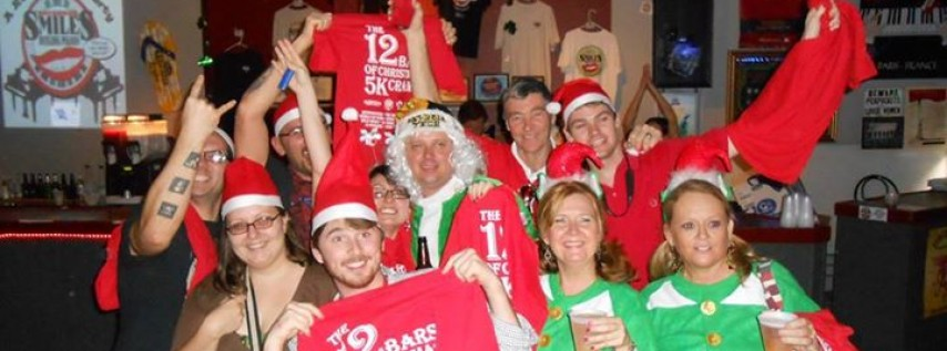 The Twelve Bars of Christmas ~ 5K Holiday Themed Bar Crawl