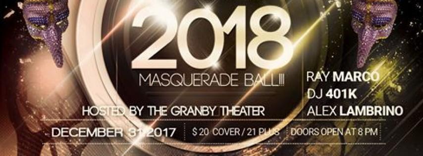 New Years Eve 2018 Masquerade Ball