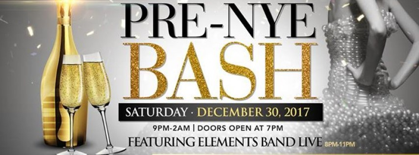 Pre-NYE Bash @ The Blue