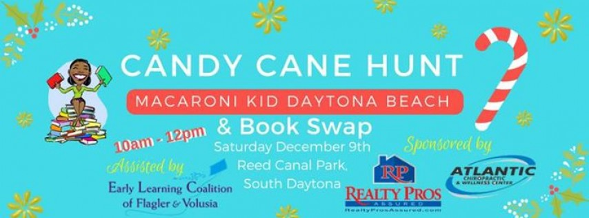 Candy Cane Hunt and Book Swap