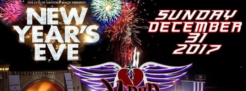 The City of Daytona Beach Presents New Year's Eve 2017