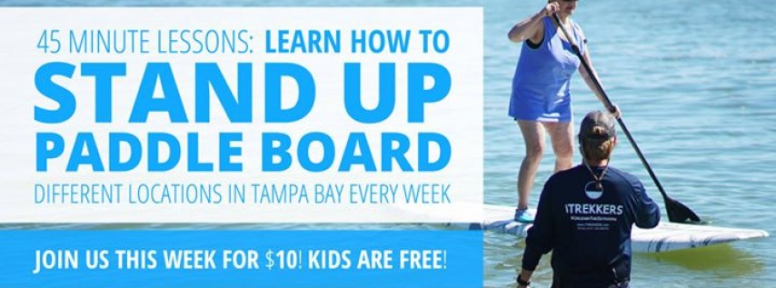 SUP for TOTAL Beginners in Gulfport: Learn to Paddle Board in Just 1 Hour!