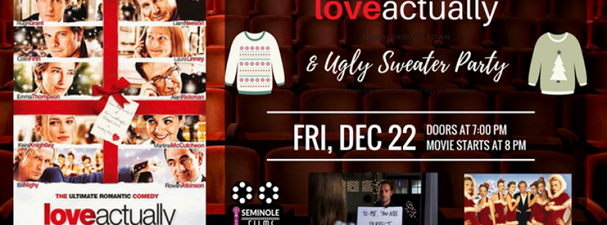 Love Actually & Ugly Sweater Party